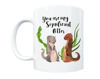 Boyfriend Gift, Gift for Boyfriend, Girlfriend Gift, Gift for Girlfriend, Valentine's Day Gift, Significant Otter, Wife Gift, Husband Gift
