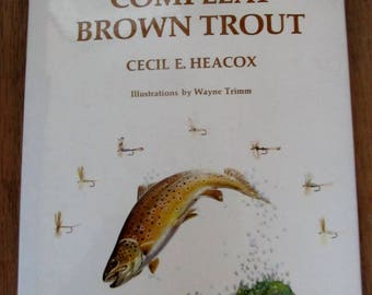 Book The Complete Brown Trout, Cecil E, Heacox,