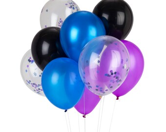 Galactic Confetti Balloons
