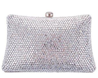 Grace Evening Bag Silver