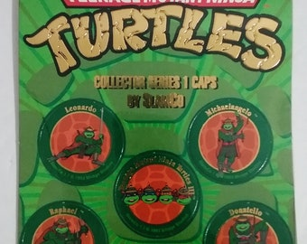 POGS- Teenage Mutant Ninja Turtles. Series 1 by Slamco