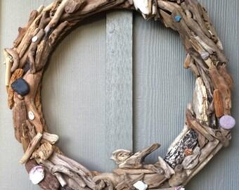 the coastal spring wreath