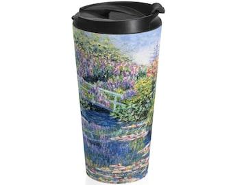 Diane Monet  Calm Afternoon  Stainless Steel Travel Mug