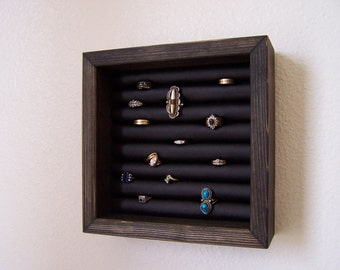Wall Hanging Ring Holder Display