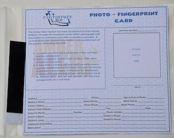 Fingerprint ID Card