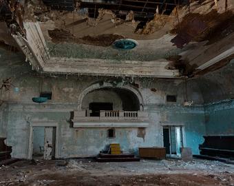 Abandoned Masonic Temple