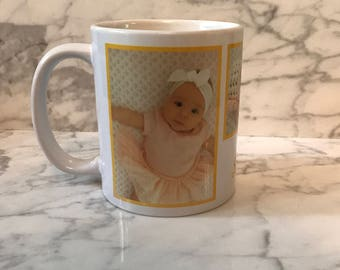 Personalized Customized Picture Mug Any Photo Coffee Tea Cup Mugs Sublimated