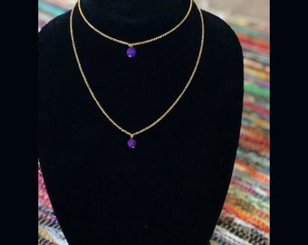 Oil Diffuser Chocker Necklace