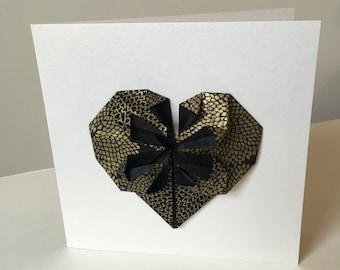 Wedding or Engagement Origami Heart