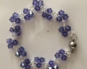 Bracelet Swarovski Purple