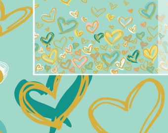 Where the Heart Is Reverie, Reverie Fusion Collection, Art Gallery Fabrics
