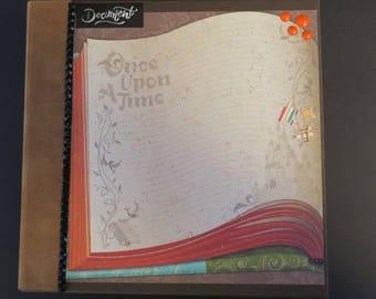Story Time mini scrapbook photo album handmade