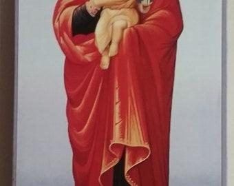 Theotokos and Christ of Valaam