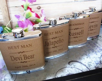 7 Personalized Wedding Flask