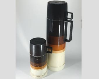 Brown Ombre Thermos Set of 2