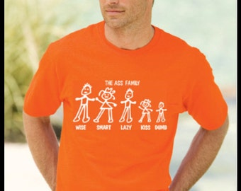Wise Ass Family Comfort Color T-Shirt