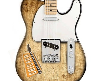 Custom Logo Telecaster Guitar Body with your Artwork