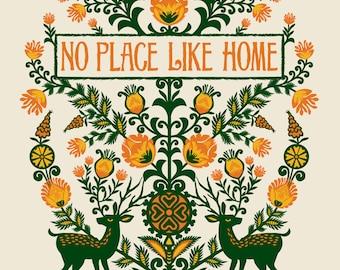 No Place Like Home silkscreen