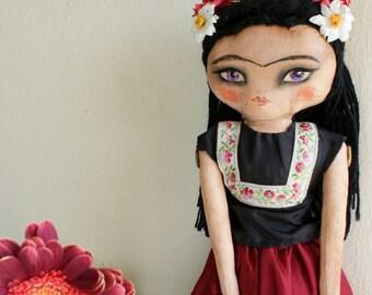 Frida Kahlo Art Doll No.2