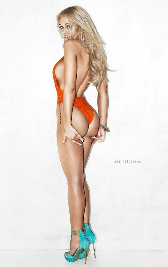 15%OFFSALE *** MissManeater deep V front cheeky scrunch bum high cut one piece swimsuit ***BRAZILIAN cut!