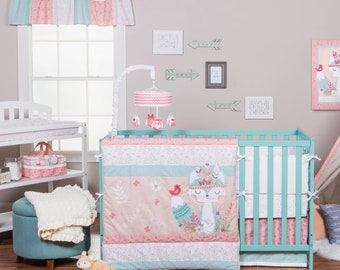 Wild Forever 3 Piece Baby Bedding Set, Baby Bedding, Nursery