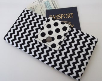Dollbirdies Long Boarding Pass Passport Wallet Last