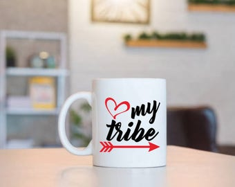 Love My Tribe   Gift for Mom   Mom Gift   Mothers Day Gift   Birthday Gift   Birthday for Mom   Mom Birthday   Gift for Her   Gift From Kids