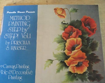 "Signed Priscilla Hauser Presents 1982 Decorative book ""The Idea Book""   48 pages used book"