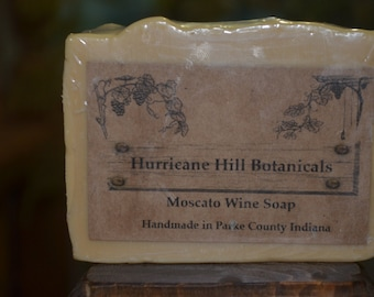 Moscato Wine Soap-All Natural-Handcrafted