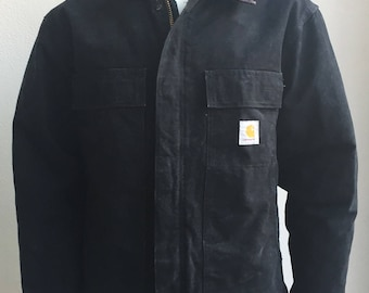 Vintage Carharrt Canvas Workwear Jacket size 44/Large Made in USA
