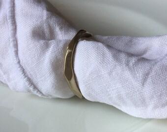 Napkin rings set