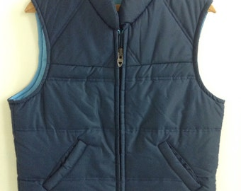 Vintage Sears vest talon zipper small