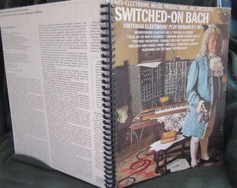 "Wendy Carlos ""Switched on Bach"" Album Cover Notebook"