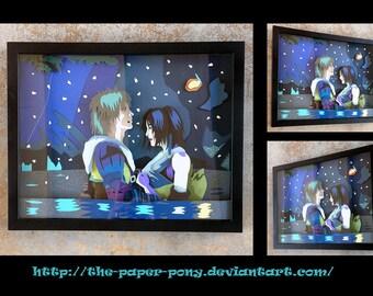 "11"" x 14"" Final Fantasy X: Tidus and Yuna"