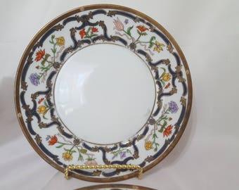 ON SALE Christian Dior Plates Dior Salad Plates Dior Renaissance Plates Antique  sc 1 st  Etsy & Dior salad plates | Etsy