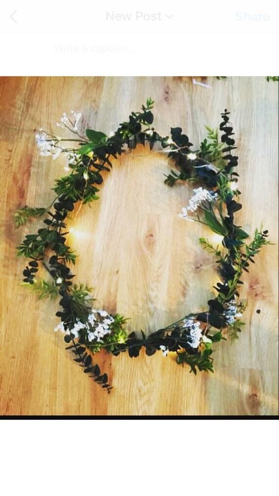 Eucalyptus Wreath Eucalyptus Centerpiece Wedding Wreath