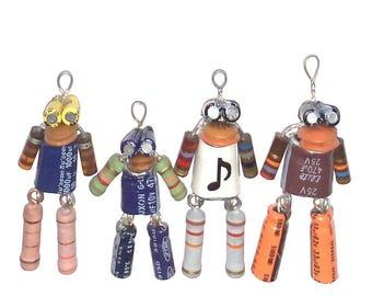 Unique Robot Quartet