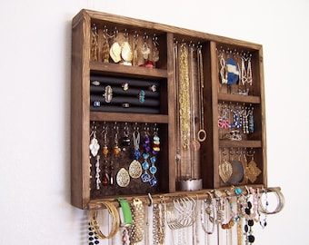 Loft Decor Jewelry Organizer with Bracelet Bar