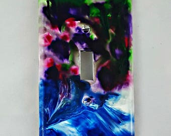 Hand Painted Light Switch Cover