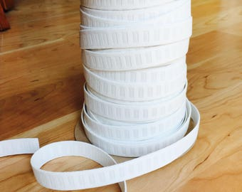 5 yards of 3/4 inch flat woven non-roll elastic