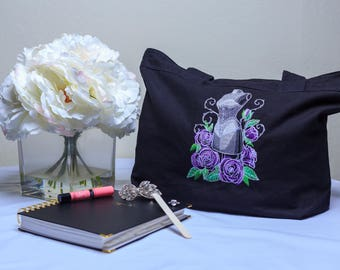 Embroidered Corset Bag