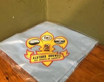The Boy Scout neckerchief