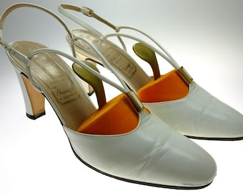 Women's Shoes Pumps Ankle Strap Pumps Tomaia Pelle MAGLI Italy leather shoe trees !reduced!