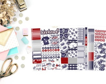 Nautical Deluxe Kit, planner stickers
