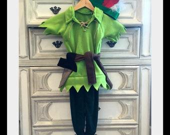 Peter Pan Inspired Costume, Robin Hood Inspired Costume
