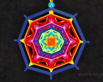 Knitted Mandala