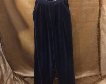 Sonia Rykiel velvet pants