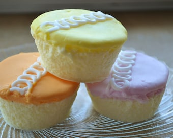 Cupcake Soap - Spring Swirls Classic Cupcake Soap - Your Choice - Party Favor - Kids Soap - Dessert - Valentines Day - Gift - Fake Food