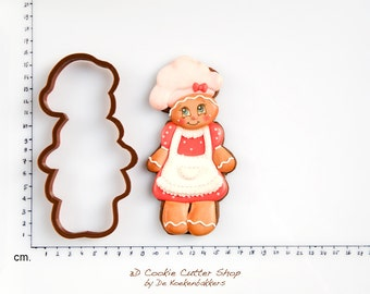 Gingerbread Mother Cookie Cutter