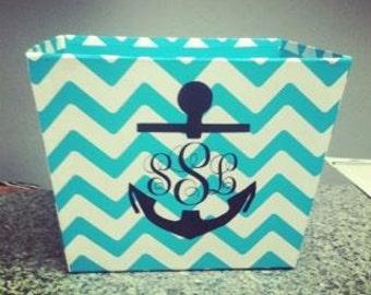 Personalized bins baskets box